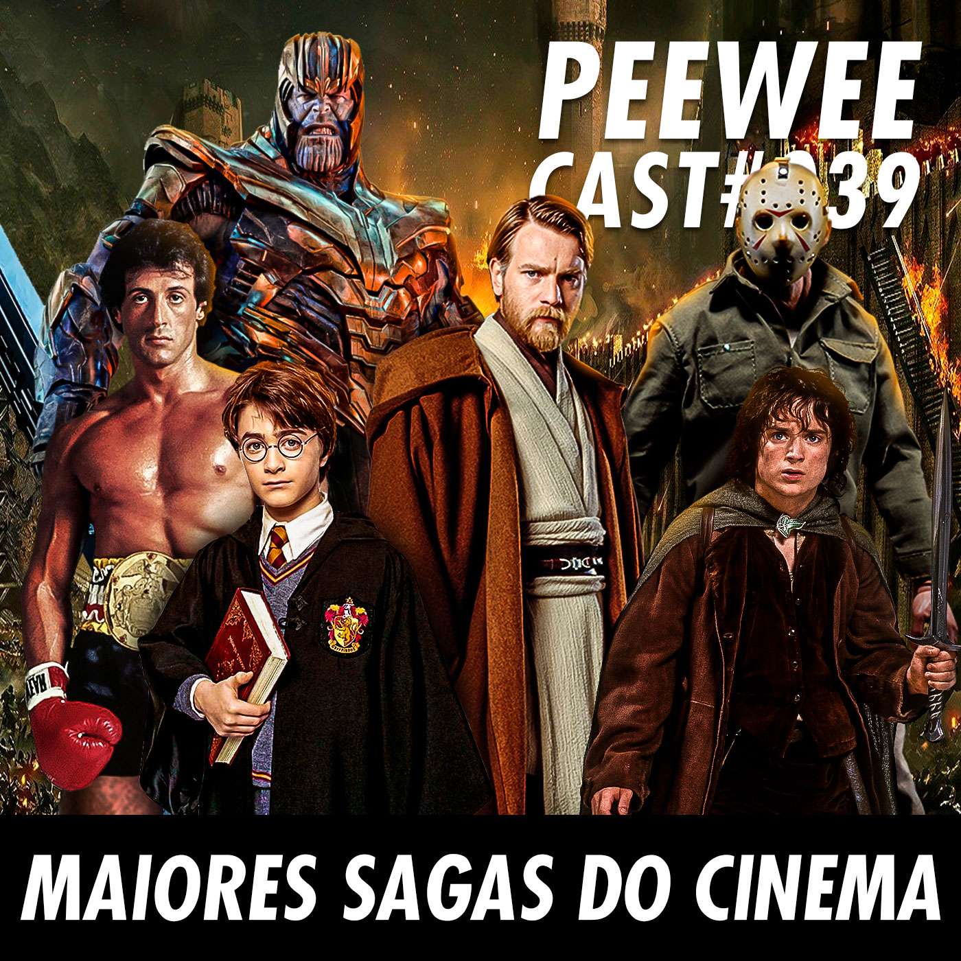 #039 – As maiores SAGAS do CINEMA!