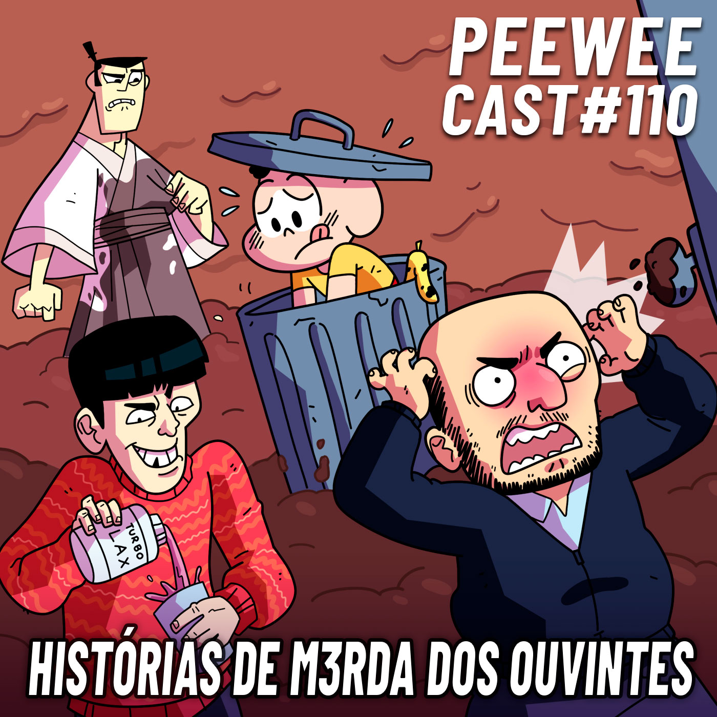 PWC110 – HISTÓRIAS DE MERDA, CAGANÇA E DIARREIA